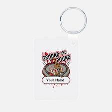 Custom Ground and Pound MM Keychains