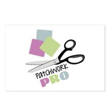 Patchwork Pro Postcards (Package of 8)