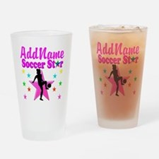 SOCCER PLAYER Drinking Glass