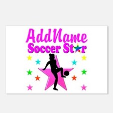 SOCCER PLAYER Postcards (Package of 8)