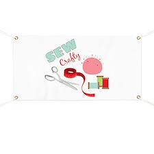 Sew Crafty Banner
