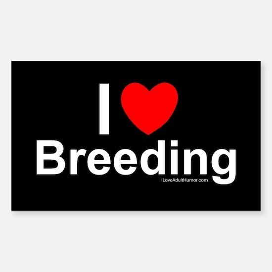 Breeding Sticker (Rectangle)