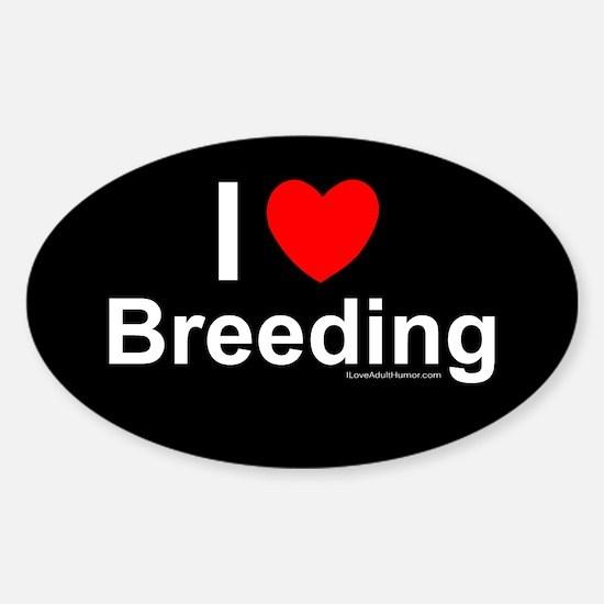 Breeding Sticker (Oval)