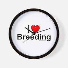 Breeding Wall Clock
