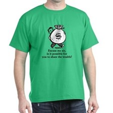 Share the Wealth T-Shirt (Dark)