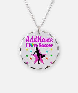 SOCCER PLAYER Necklace