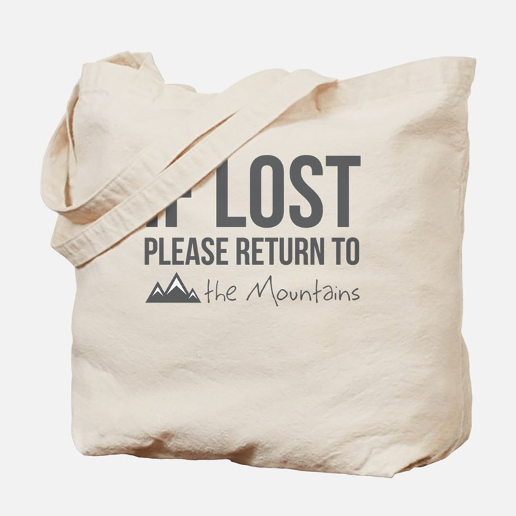 Return to the mountains Tote Bag