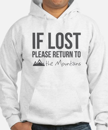 Return to the mountains Hoodie