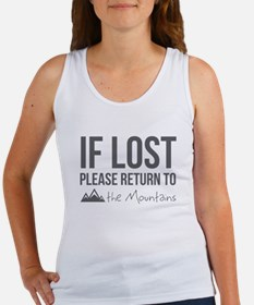Return to the mountains Tank Top