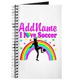 Girls soccer Journals & Spiral Notebooks