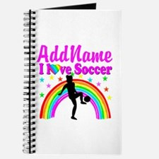 SOCCER PLAYER Journal
