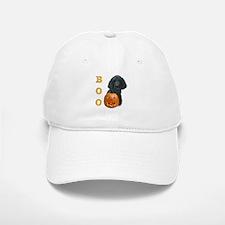 Poodle (Blk) Boo Baseball Baseball Cap