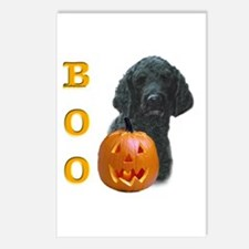 Poodle (Blk) Boo Postcards (Package of 8)