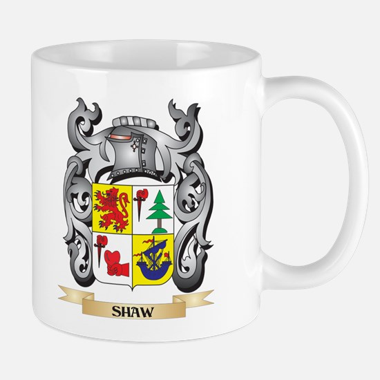 Shaw Coat of Arms - Family Crest Mugs