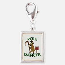 Funny Dancer Christmas Reindeer Pun Charms