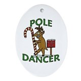 Funny christmas Oval Ornaments