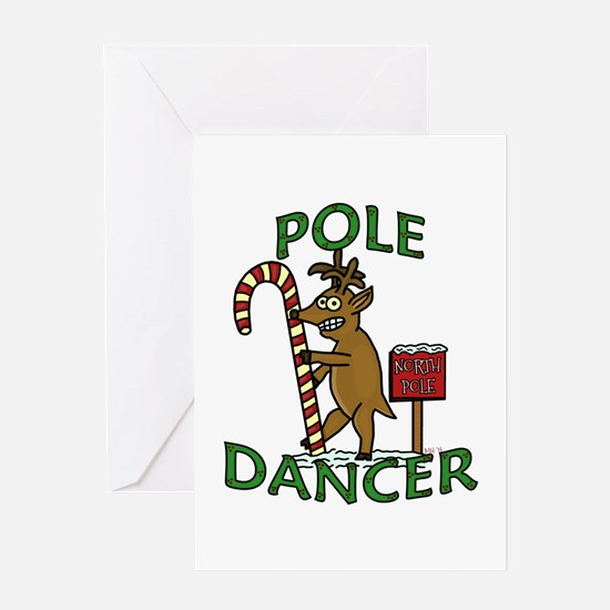 Funny reindeer greeting cards cafepress for Funny reindeer christmas cards
