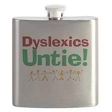 Dyslexics Untie! Flask