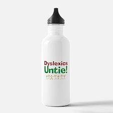Dyslexics Untie! Water Bottle
