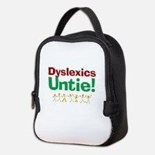 Dyslexics Untie! Neoprene Lunch Bag