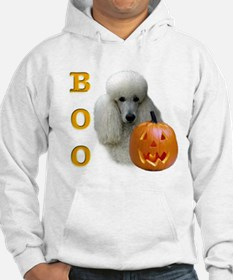 Poodle (Wht) Boo Hoodie
