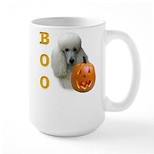 Poodle (Wht) Boo Mug