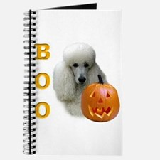 Poodle (Wht) Boo Journal