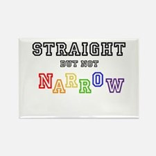 Straight but not narrow T-Shirt Magnets