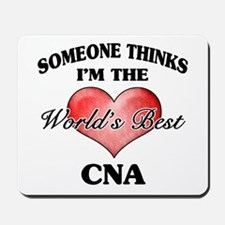 World's Best CNA Mousepad