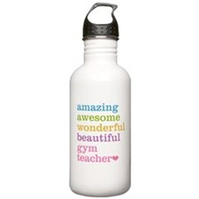 Gym Teacher Water Bottle