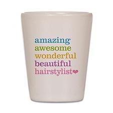 Hairstylist Shot Glass
