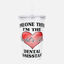 World's Best Dental As Acrylic Double-wall Tumbler