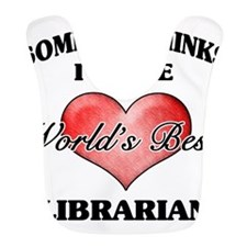 World's Best Librarian Bib