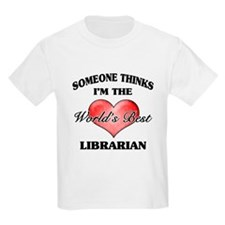 World's Best Librarian T-Shirt