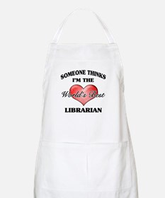 World's Best Librarian Apron
