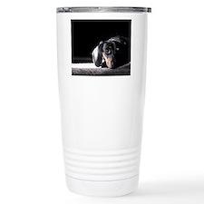 Cute Miniature dachshund Thermos Mug