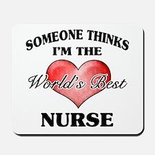 World's Best Nurse Mousepad