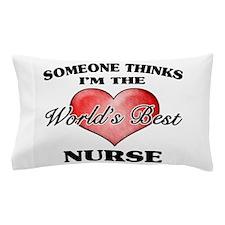 World's Best Nurse Pillow Case