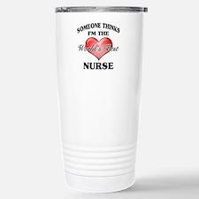 World's Best Nurse Stainless Steel Travel Mug