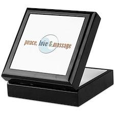 Peace, Love and Massage Keepsake Box