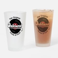Oakland Home of Funk Drinking Glass