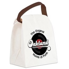 Oakland Home of Funk Canvas Lunch Bag