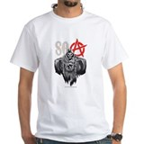 Sons of anarchy Mens White T-shirts