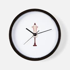 Dress Mannequin Wall Clock