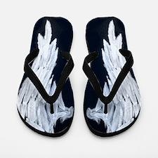 Angel wings blue moon Flip Flops