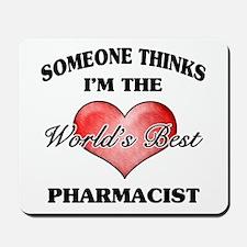 World's Best Pharmacist Mousepad