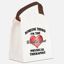 World's Best Physical Therapist Canvas Lunch Bag