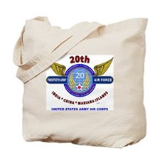 20TH ARMY AIR FORCE* ARMY AIR CORPS WW II Tote Bag