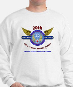 20TH ARMY AIR FORCE* ARMY AIR CORPS WW  Jumper