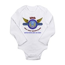 20TH ARMY AIR FORCE* ARMY AIR CORPS WW I Body Suit